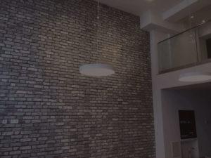Federleichtes Mauerwerk Steinimitat