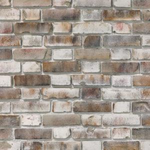 Ziegelstein Brick Grey Shabby