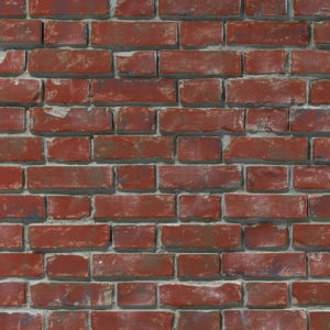 Ziegelstein Brick Red Aged