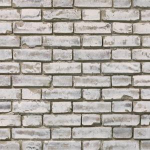 Ziegelstein Brick White Shabby
