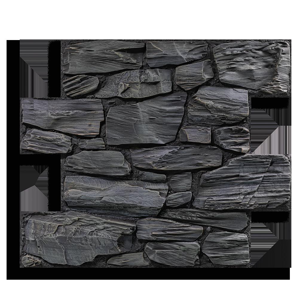 Produktaufnahme Bruchstein Rock Black