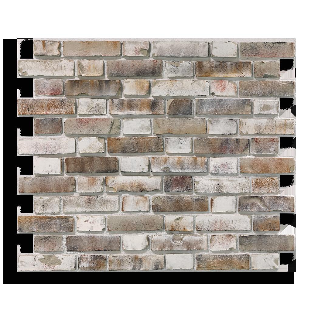 Produktaufnahme Ziegelstein Brick Grey Shabby