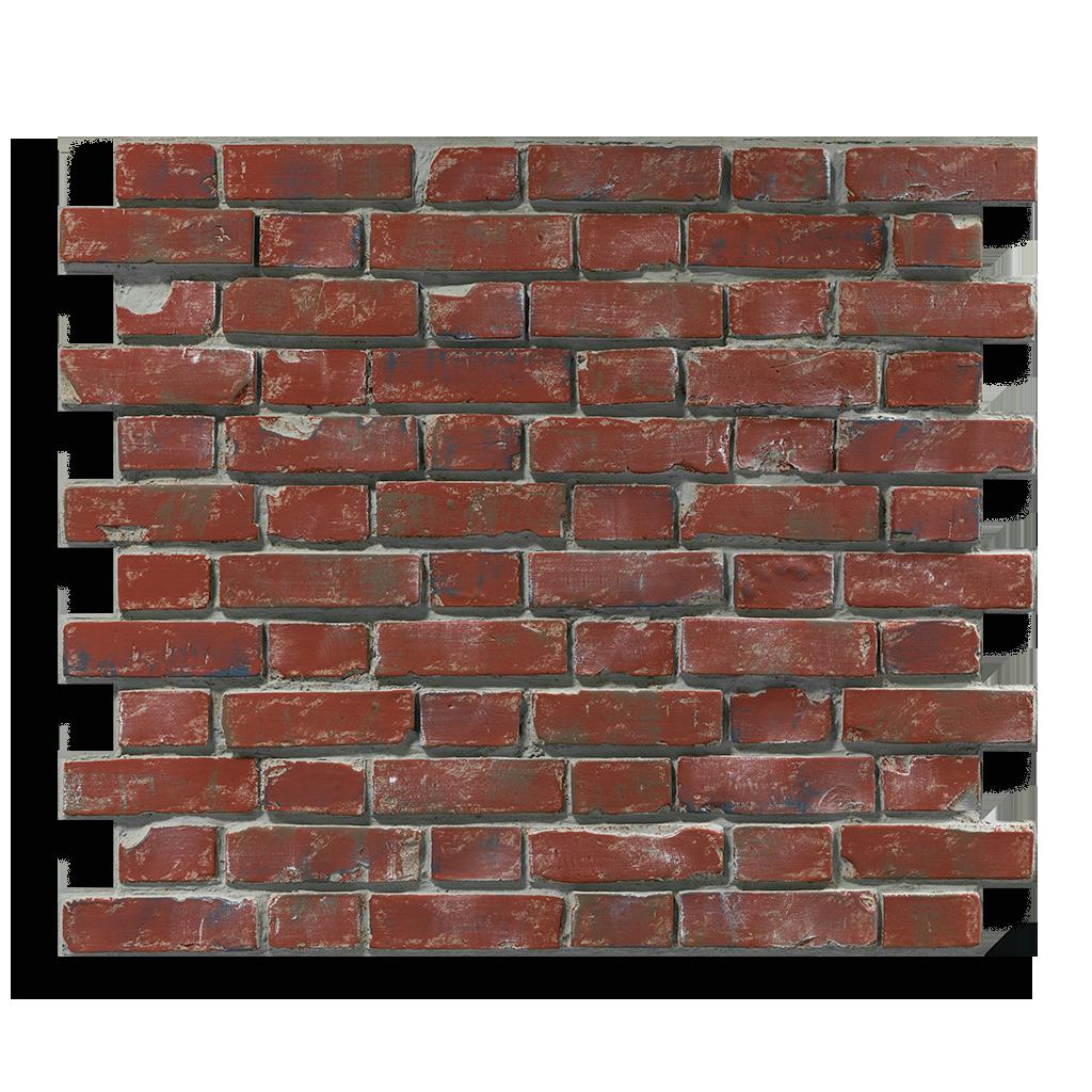Produktaufnahme Ziegelstein Brick Red Aged