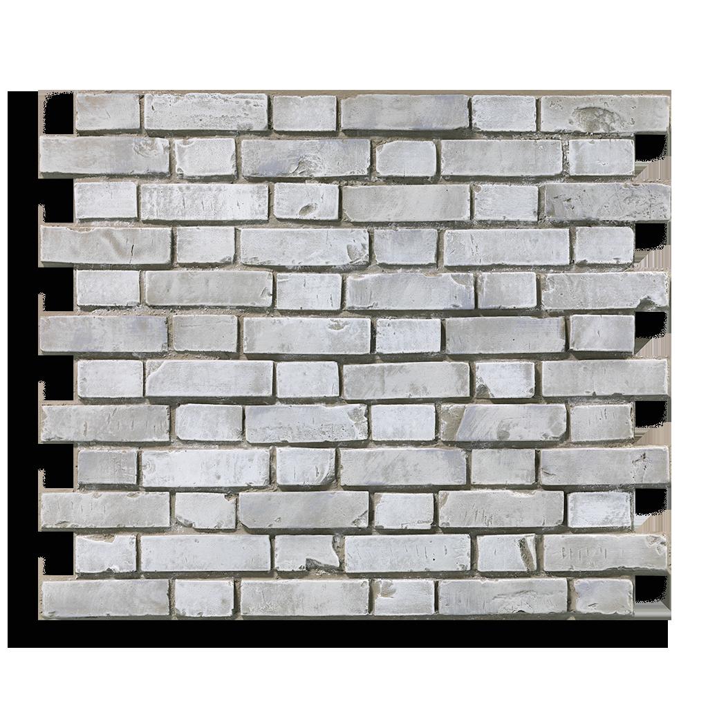 Produktaufnahme Ziegelstein Brick White Aged