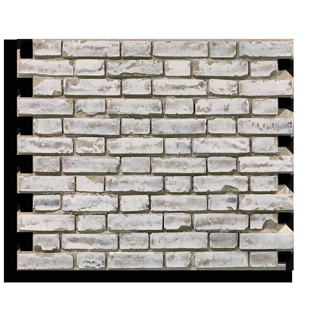 Produktaufnahme Ziegelstein Brick White Shabby